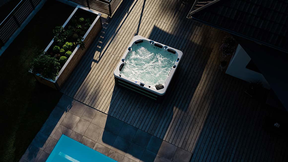 Spa und Whirlpool Outdoor für Zuhause